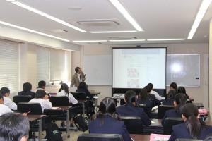 鳥取東高校来学2
