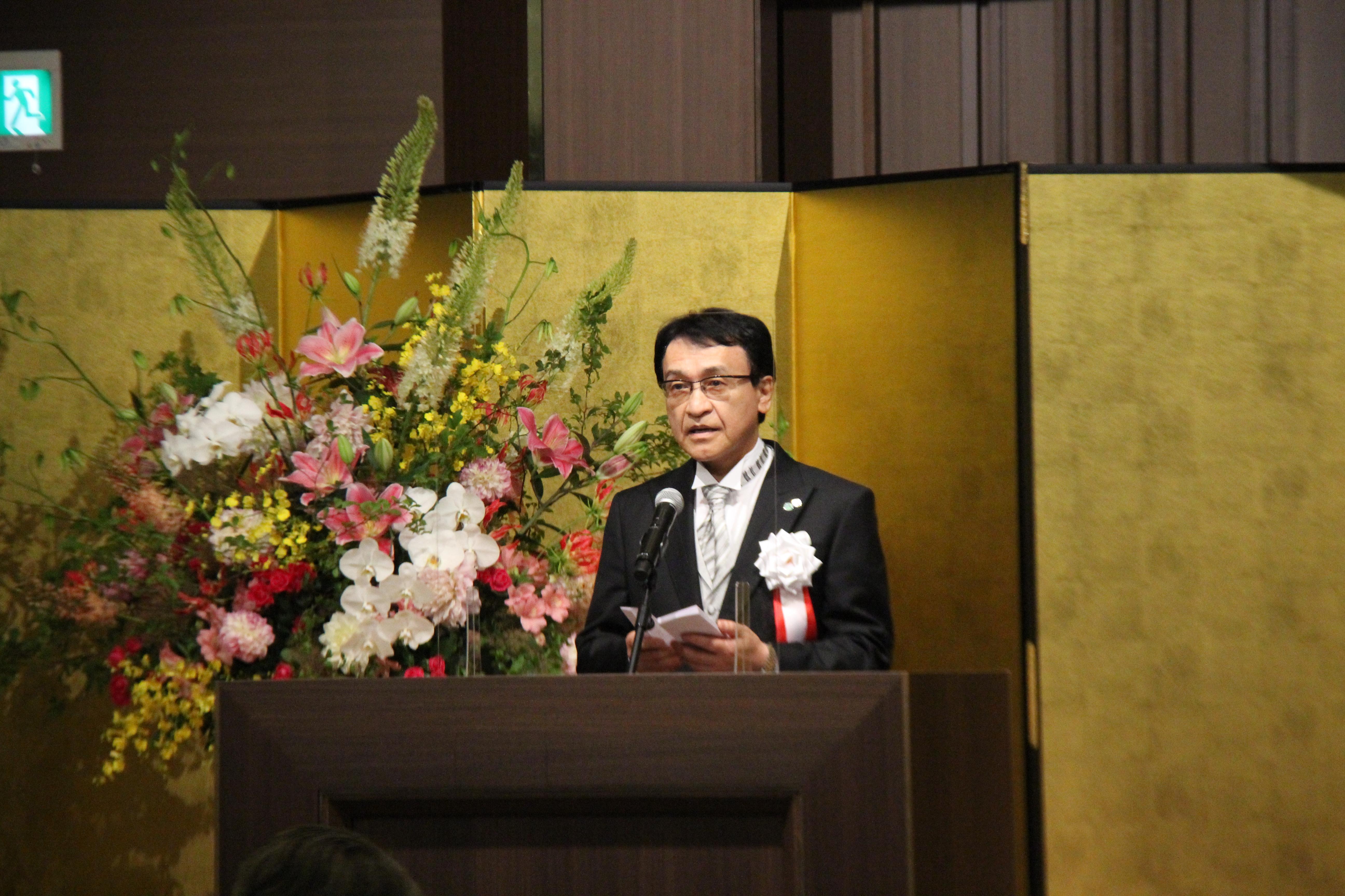 トップ > 新着情報 > 75周年記念式典・記念講演会を挙行しました 01