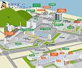 米子キャンパスマップ