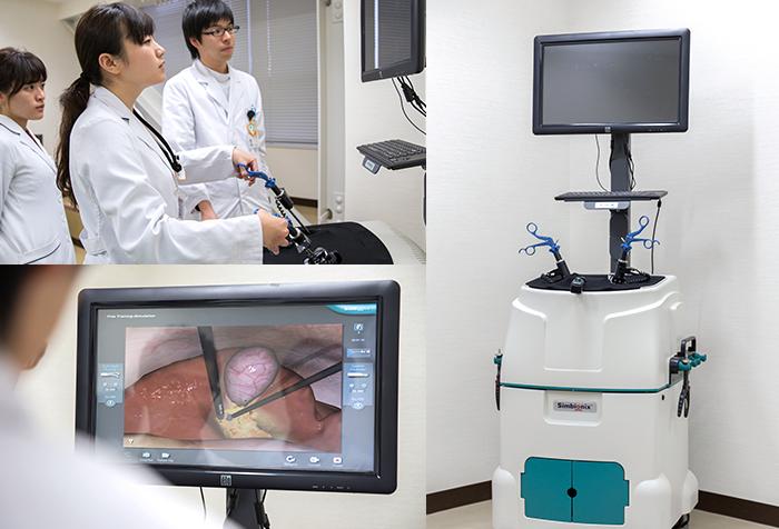 spot_2_腹腔鏡下手術トレーニングシミュレータ(LAP-MENTOR)